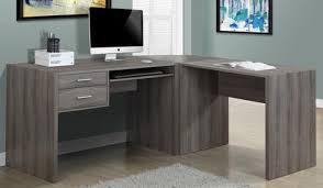 images pour bureau d ordinateur bureau d ordinateur en l taupe foncé monarch i7092 3 mobilier enora