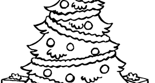christmas tree coloring pages adults archives cool coloring
