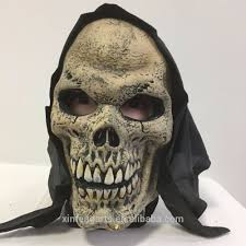 halloween skeleton mask latex foam skull mask halloween item foam rubber mask foam latex