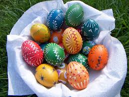 german easter egg tree easter egg designs boho chic eggs