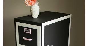 Chalk Paint On Metal Filing Cabinet File Cabinet Makeover Design Improvised
