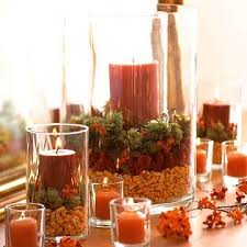 candle arrangements simple thanksgiving candle displays fall decor candle