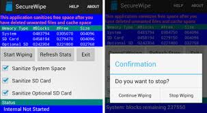 how to wipe an android phone how to permanently delete files on android