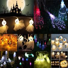 halloween ghost string lights halloween ghost string lights indoor outdoor decor light battery
