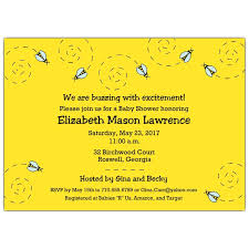 bee baby shower busy bumble bee baby shower invitations paperstyle