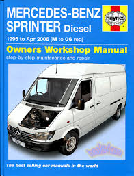 sprinter shop manual service repair book haynes mercedes dodge