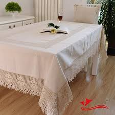 can you put a rectangle tablecloth on a round table cotton linen woven lace tablecloth fashion north european style