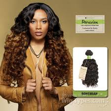 bohemian curl wvg sensationnel 100 virgin remi bundle hair bare natural peruvian