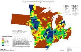 Map Of Illinois And Indiana by Drainage Water Management Maps And Spreadsheets Nrcs