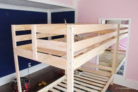 Wood For Building Bunk Beds by Awesome Kid U0027s Bunk Bed Playhouse