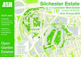 Lancaster Map Silchester Estate And Lancaster West Estate