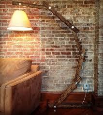 Home Decor Floor Lamps Rustic Wood Floor Lamp Home Decor Lighting Ideas Pic 98 Cool