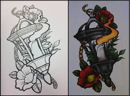 neo traditional lantern by scream stay night on deviantart