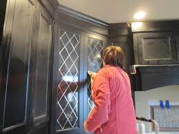 Leaded Glass Cabinet Doors - Glass inserts for kitchen cabinet doors
