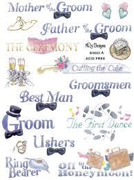 wedding scrapbook stickers 55 best wedding scrapbook stickers images on bridal