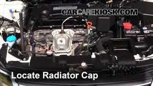 honda accord radiator fluid coolant flush how to honda accord 2013 2016 2015 honda accord