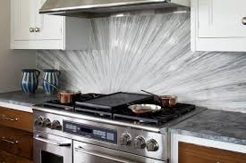 Kitchen Backsplash Glass Tiles Glass Tile Backsplash Contemporary Kitchen Dc Metro By