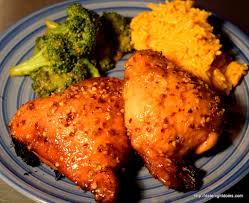 garlic honey chicken thighs date night doins bbq for two