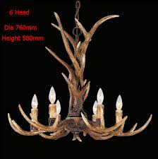 Antler Chandelier Shop Aliexpress Com Buy Europe Country 6 Head Candle Resin Antler