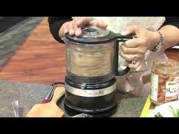 demo u0027ing kitchenaid u0027s new mini food processor youtube