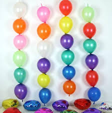 100 pcs lot 6inch tail balloons multicolor wedding birthday party