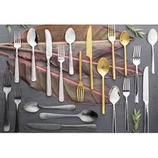 Design For Copper Flatware Ideas Silverware Flatware Sets You Ll Wayfair