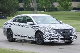 nissan altima sport 2016 2016 nissan altima faclift spotted testing