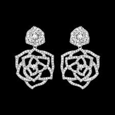 piaget earrings white gold diamond earrings piaget luxury jewellery g38u0066