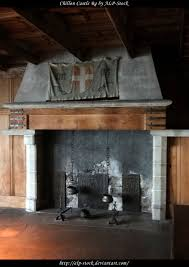 chillon castle fireplace 02 by alp stock on deviantart