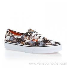 us men u0027s women u0027s vans unisex authentic aspca cat skate shoes
