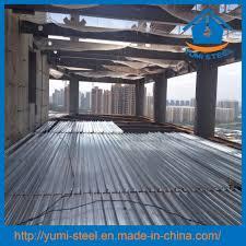 Yumi Floor L China Galvanized Steel Bondek Slab Floor Decking Sheet Photos