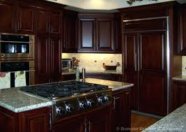 cherry mahogany kitchen cabinets cherry mahogany kitchen cabinets pictures of kitchens with stained
