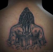 13 fabulous shiva tattoos for back