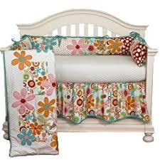 Cotton Tale Poppy Crib Bedding Nursery Decoration Inspiration Floral Nursery Crib Bedding