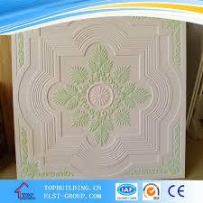 plafonnier color礬 en pl磚tre plafond en fibre de verre plafond