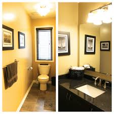 decorating a yellow bathroom with some ideas