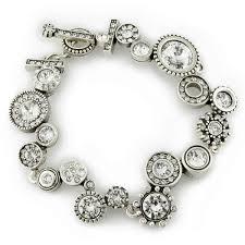 crystal snake bracelet images Patricia locke snake charmer bracelet silver crystal jewelry jpg