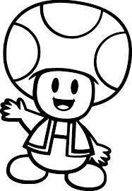 happy cute mushroom man coloring page wecoloringpage