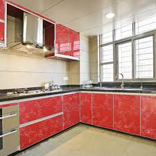 How To Get Cheap Kitchen Cabinets Online Get Cheap Vinyl Kitchen Cabinets Covering Aliexpress Com