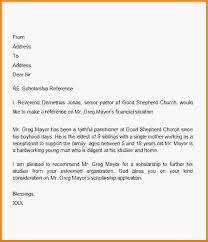 sample letter of recommendation 7 examples in word pdfsorority