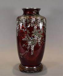 Antique Cloisonne Vases Antique Japanese Vases The Uk U0027s Premier Antiques Portal Online