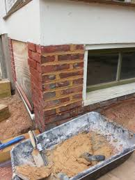 Pointing A Patio by Repairing And Repointing Brick Foundation Building Moxie