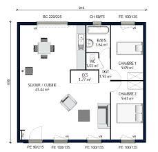 plan de maison plain pied 2 chambres plan maison phenix plain pied 2 chambres