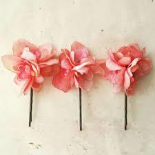 Flower Clips For Hair - shop silk flower hair clips on wanelo