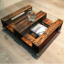 coffee table upcycled pine drawers upcycled antique furniture