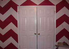diy chevron print wall paint cheap under 15 youtube