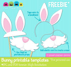 easter photo props free printable easter paper crafts clip clipart free