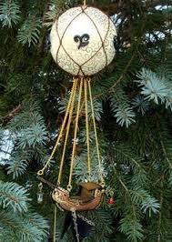 steunk air balloon ornament diy more at the link deckin