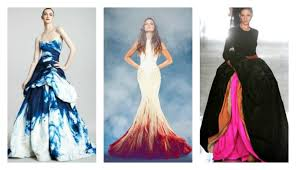 wedding dresses with color 15 colored wedding dresses that will make you rethink a white wedding