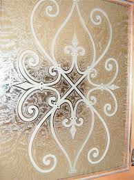 Glass Etching Designs For Kitchen 12 Best Glass Front Kitchen Cabinets Images On Pinterest Kitchen